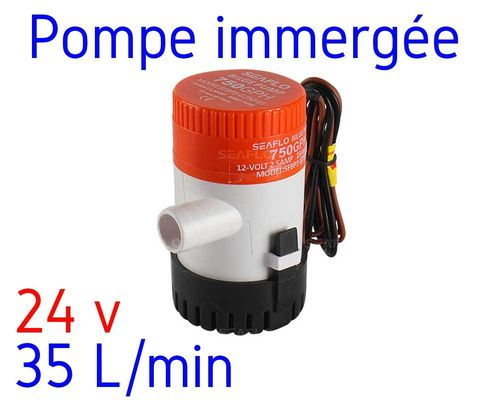 Water pump 24V - 35 liters per min