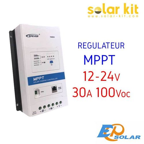 MPPT charge controler 30A 12-24V TRIRON EPSOLAR