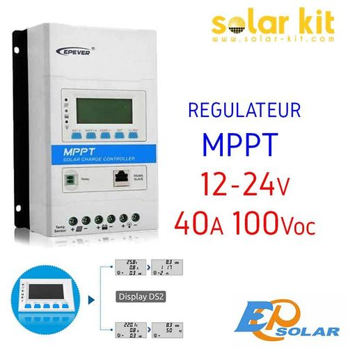 MPPT charge controler 40A 12-24V TRIRON EPSOLAR