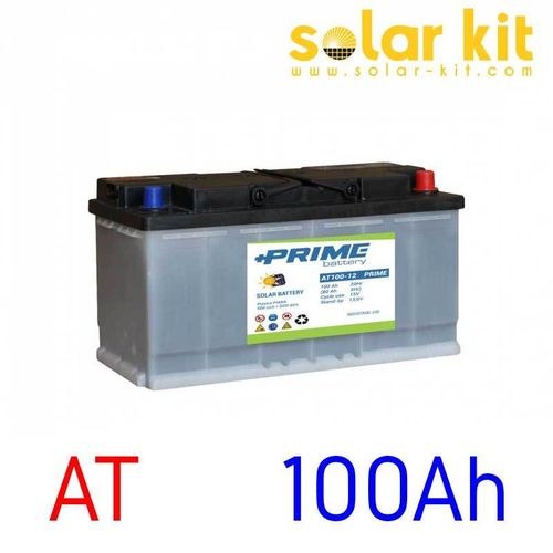 Batterie solaire AT 12v 100Ah Prime