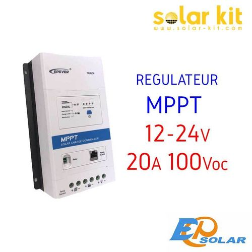 MPPT charge controler 20A 12-24V TRIRON DB1 EPSOLAR