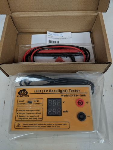 LED TESTER 0-300V VOLTAGE AND CURRENT
