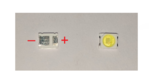 LED3528 3V REVERSED POLARITY V400HJ6-PE1