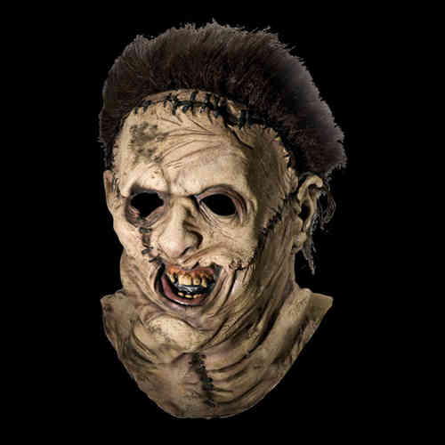 Leatherface horror mask - Halloween