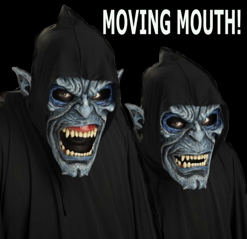 Nosferatu Mask Moving mouth - Halloween
