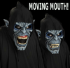 Nosferatu moving mouth deluxe vampire mask