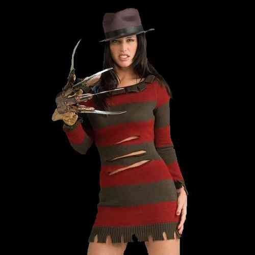 Freddy Krueger Female Costume