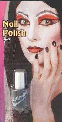 Black Nail Polish - Contain 13ml of Nail Polish