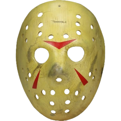 Friday the thirteenth Jason Voorhees hockey mask prop replica