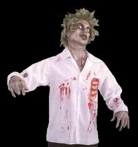 Zombie Shirt with bone detail - Halloween
