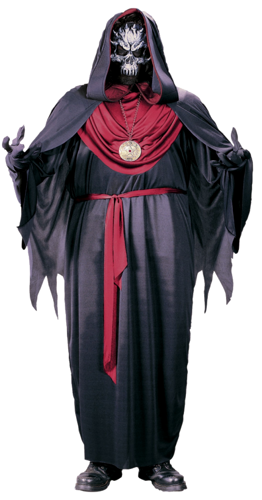 Adult demon robe - one size - Halloween