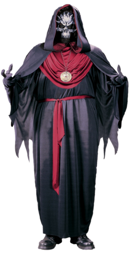 Adult demon robe Red - Halloween