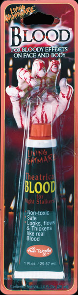 Theatrical Blood for face or body