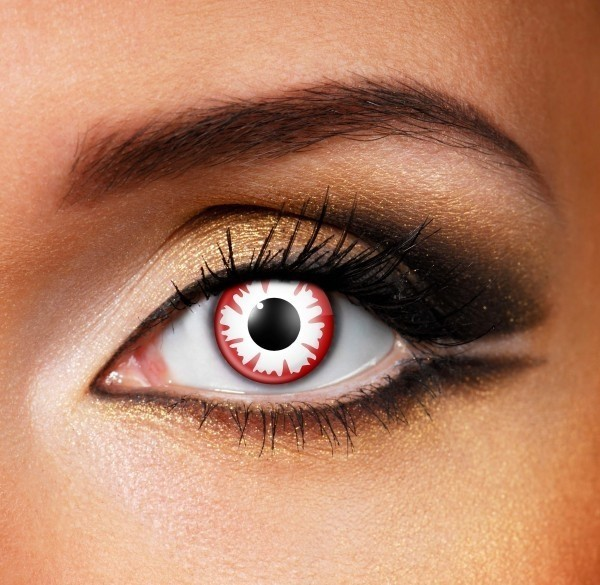 Blood demon Contact Lenses - Pair of lenses for demons