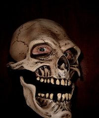 Death reaper skull mask action jaw  - Halloween