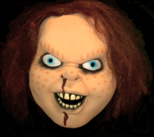 Chucky mask horror movie mask - Childs play movie mask