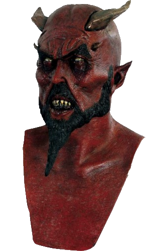 Lord Lucifer horror mask Halloween