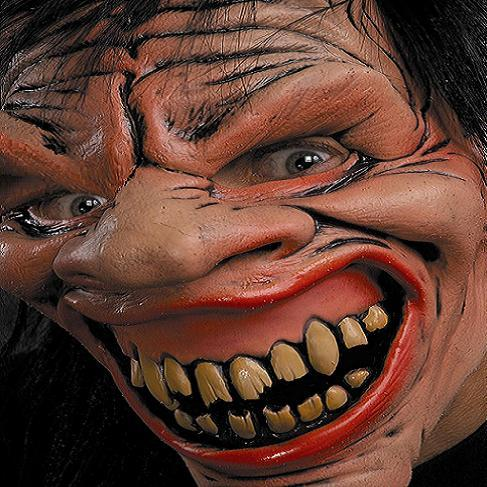 Mischievous imp Latex horror mask - Halloween