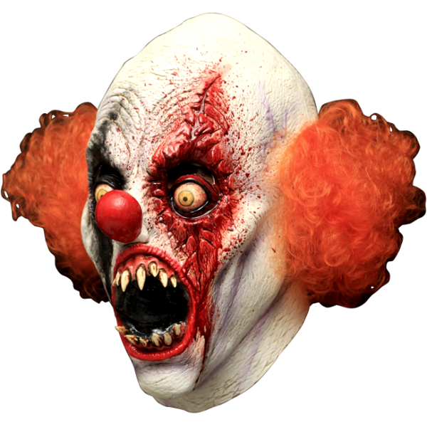 IT clown mask - Pennywise the Clown style horror mask