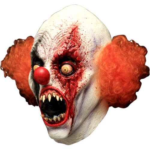 Terror teeth the Evil clown horreur masque