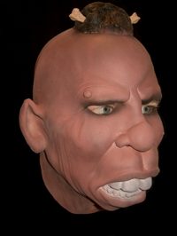 Cannibal horror realistic mask - Halloween