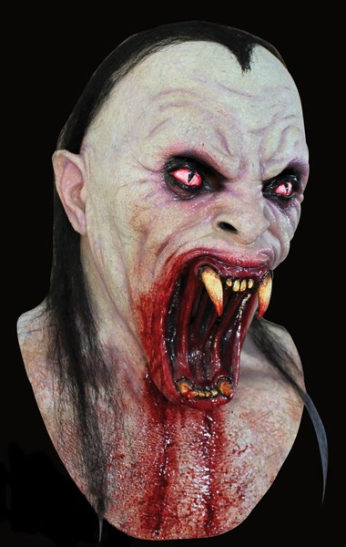 Viper Fangs bloodsucker - Latex horror mask - Vampire mask