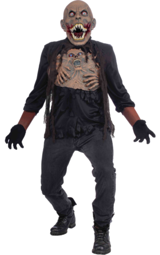 Evil Mutant Costume with mask - Halloween