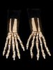 Skeleton hands action gloves - Halloween