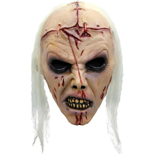 Zombie Lobotomy horror mask - Halloween
