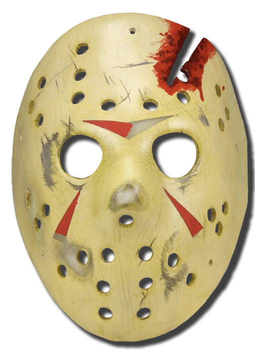 El viernes 13 parte 4 Jason hockey mask prop replica