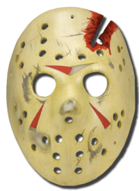Jason Voorhees - hockey mask replica 'FRIDAY THE 13TH' part 4