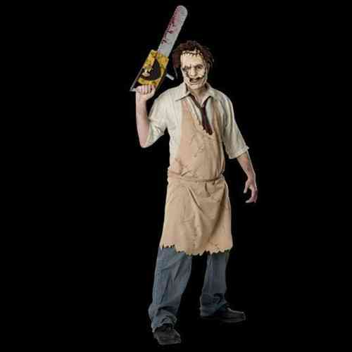 Costume del massacre del chainsaw di Leatherface