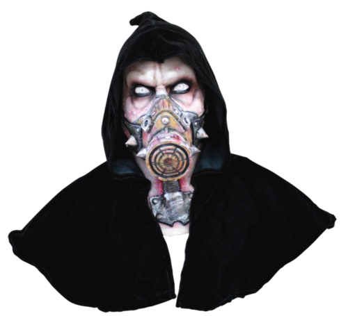Nuke horror mask with hood - Halloween