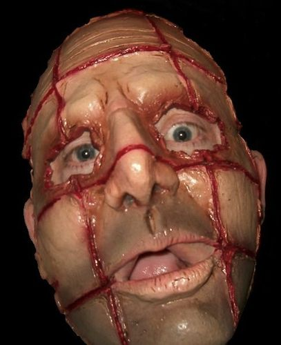 Razor face Serial Killer mask - Halloween