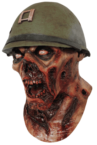Captain zombie lester horror mask - Halloween