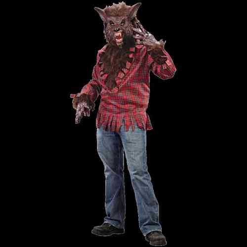 Deluxe Werewolf Costume  / Brown