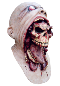 Blurp Charlie Halloween Mask full head latex horror mask