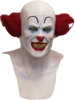 Pennywise mask IT Clown full head horror mask