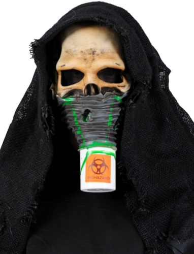Toxic survivor  horror mask - Halloween