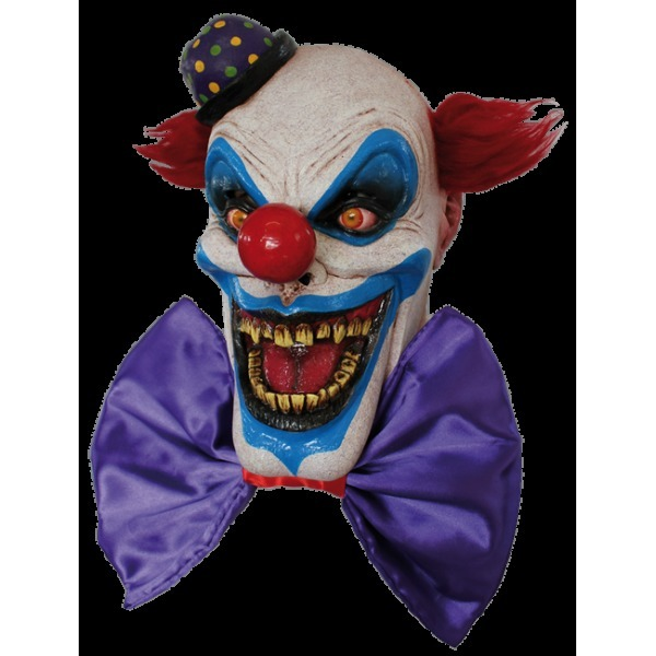 Chompo Big bow the clown mask - Halloween