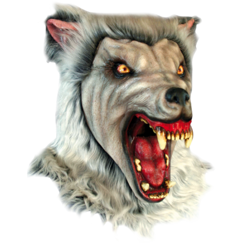 HORROR, MASK, LATEX, MONSTER,wolf,werewolf,hombre lobo