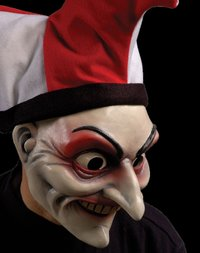 Evil Jester Clown mask