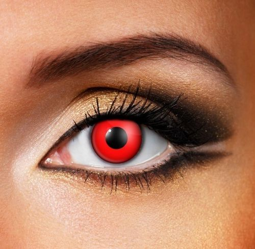 Blood Red Contact Lenses SPFX