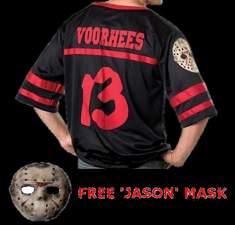 Jason Voorhees shirt with mask