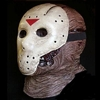 Jason Voorhees Friday the 13th horror movie mask Jason