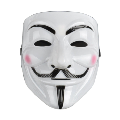 V for Vendetta Anonymous movie hacker mask