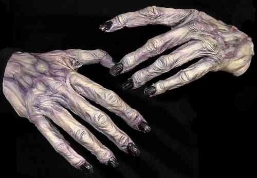 Horror hands monster ghoul
