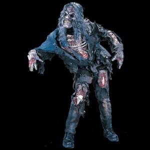 Zombie horror costume with Mask - Halloween