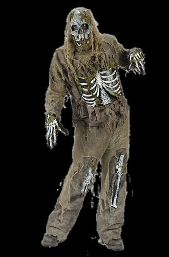 Zombie skeleton costume with mask - Halloween