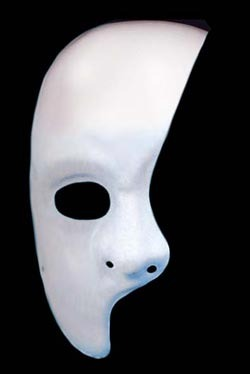 Phantom of the Opera Face Mask